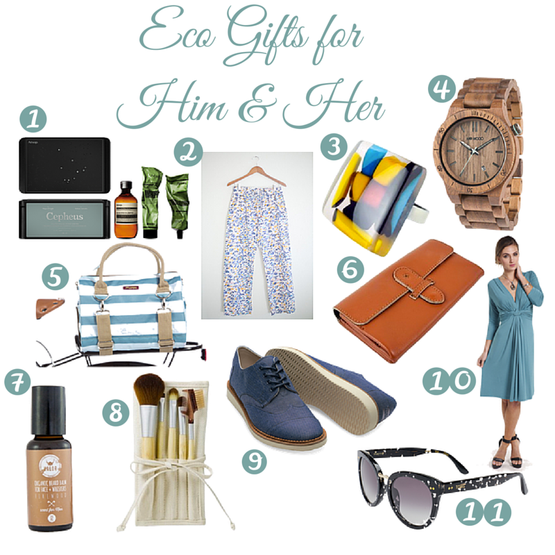 Eco Gift Guide: Him & Her