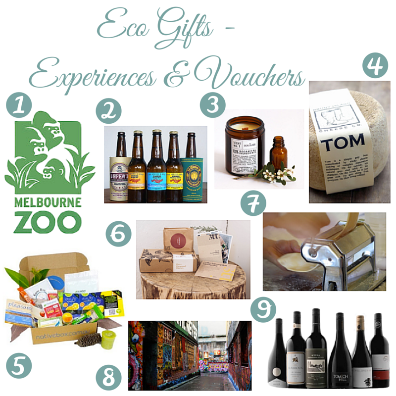 Eco Gift Guide: Experiences & Vouchers | I Spy Plum Pie