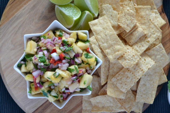 Pineapple Salsa | I Spy Plum Pie