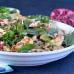 Recipe: Haloumi Pomegranate Salad