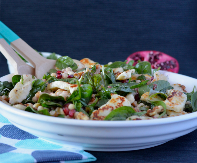 Haloumi Pomegranate Salad 2