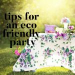 Tips for an Eco Friendly Party