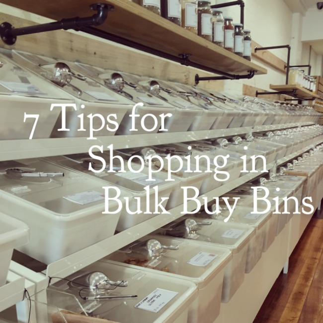 7 Tips for Shopping in Bulk Buy Bins | I Spy Plum Pie