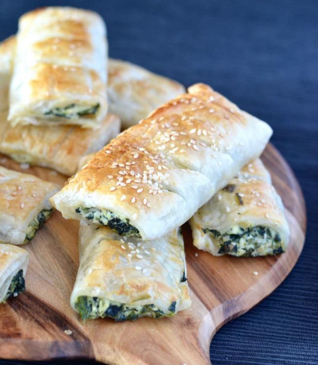 Spinach Ricotta Rolls | I Spy Plum Pie