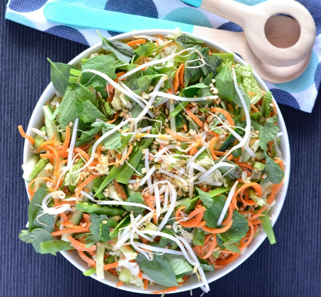 Crunchy Asian Rice Salad | I Spy Plum Pie