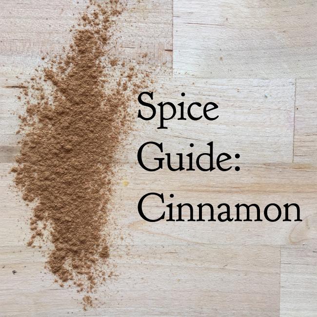 Spice Guide: Cinnamon