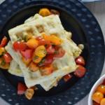 Recipe: Zucchini Corn Waffles