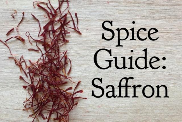 Spice Guide: Saffron