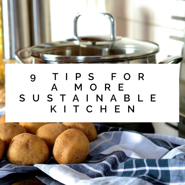 Tips for a More Sustainable Kitchen | I Spy Plum Pie