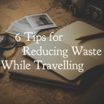 6 Tips for Reducing Waste While Travelling