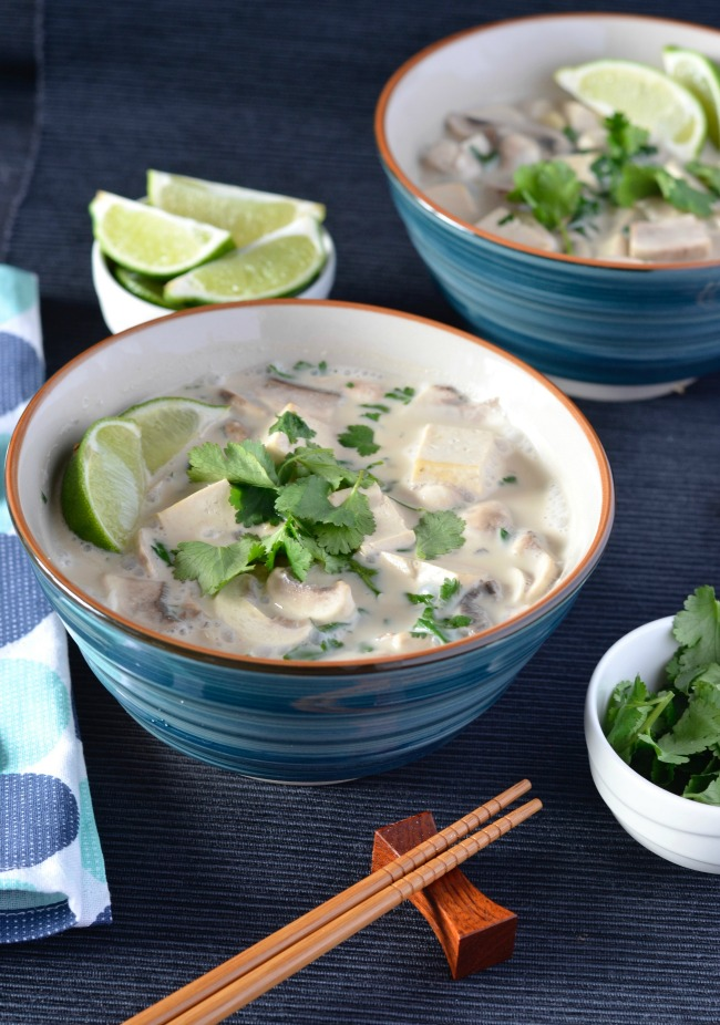Have you made coconut lime noodle soup before?