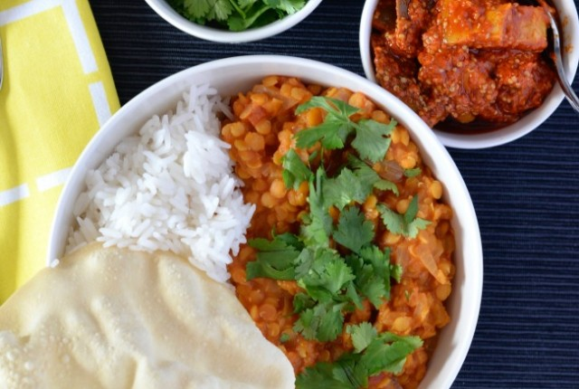 Red Lentil Dahl | I Spy Plum Pie