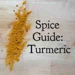 Spice Guide: Turmeric
