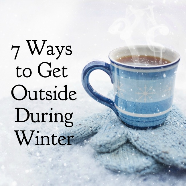 Ways to Get Outside During Winter | I Spy Plum Pie