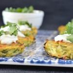 Recipe: Zucchini Haloumi Fritters