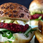 Recipe: Beetroot & Chickpea Burgers