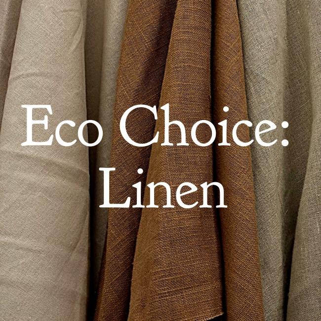 Eco Choice: Linen | I Spy Plum Pie