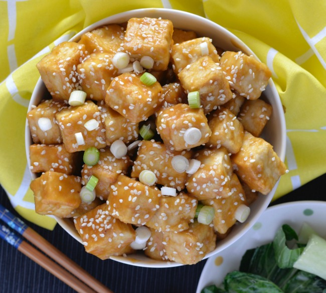 Orange Ginger Tofu   I Spy Plum Pie