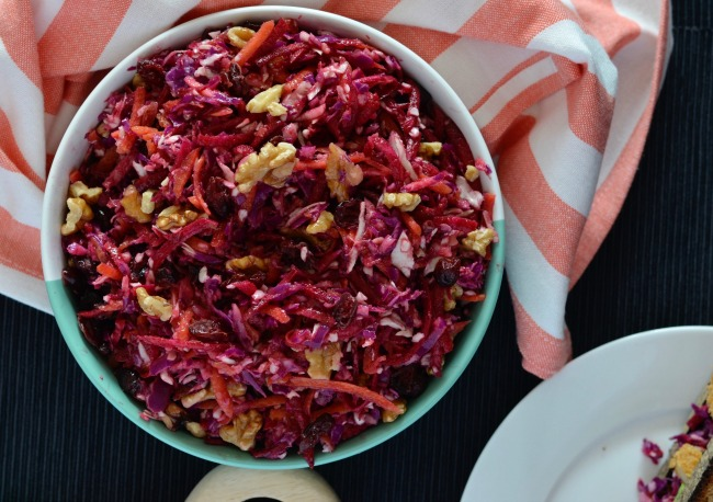 Winter Slaw | I Spy Plum Pie