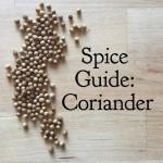 Spice Guide: Coriander