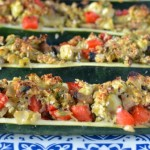Recipe: Vegetable Stuffed Zucchini