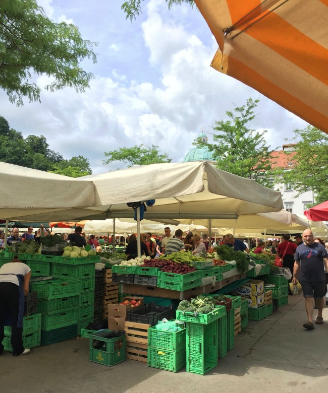 Slovenia Exploring: Markets and Food