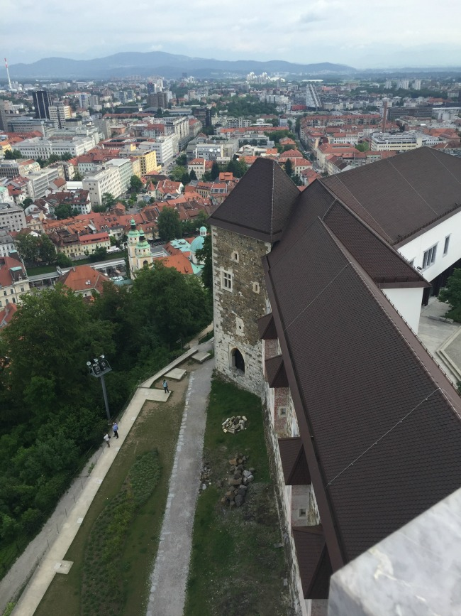 Ljubljana Exploring: Cathedral, Castle & The Old Town