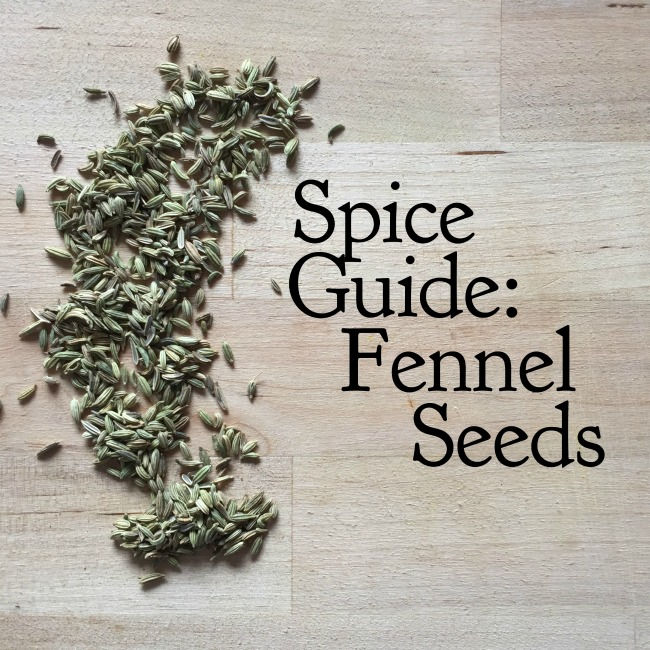 Spice Guide: Fennel Seeds | I Spy Plum Pie
