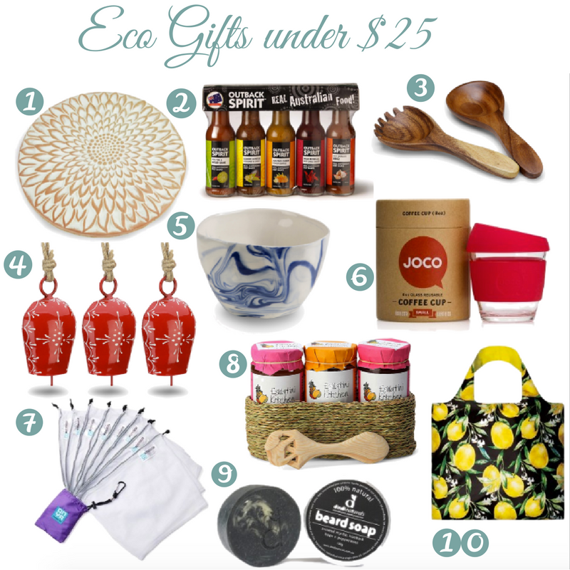 Eco Gifts Under $25 | I Spy Plum Pie