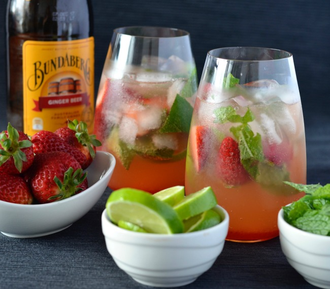 Strawberry Moscow Mule | I Spy Plum Pie