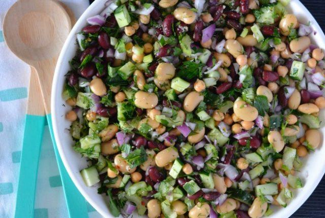 Parsley Bean Salad   I Spy Plum Pie