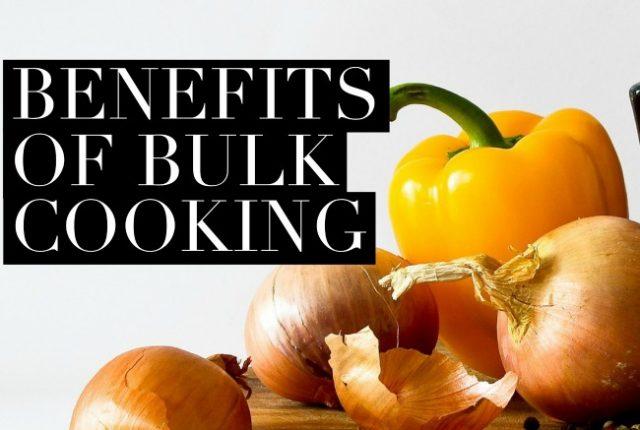 Benefits of Bulk Cooking | I Spy Plum Pie