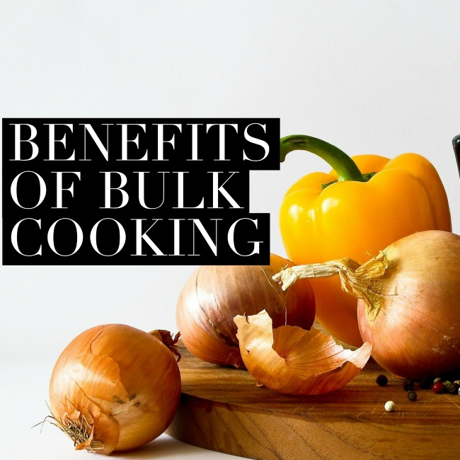 Benefits of Bulk Cooking | I Spy Plum Pie