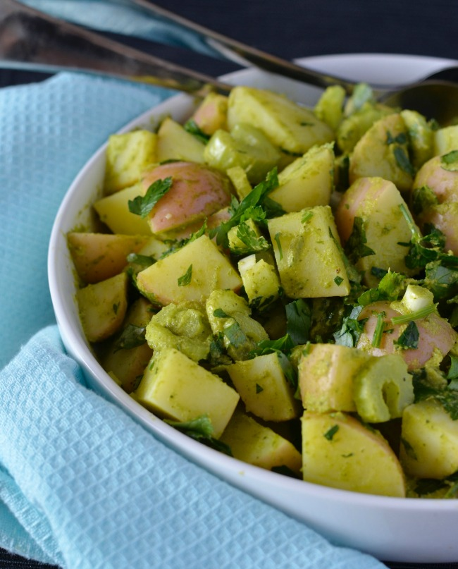 Herbed Potato Salad | I Spy Plum Pie