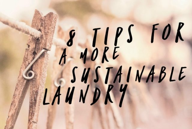 8 Tips for A More Sustainable Laundry | I Spy Plum Pie