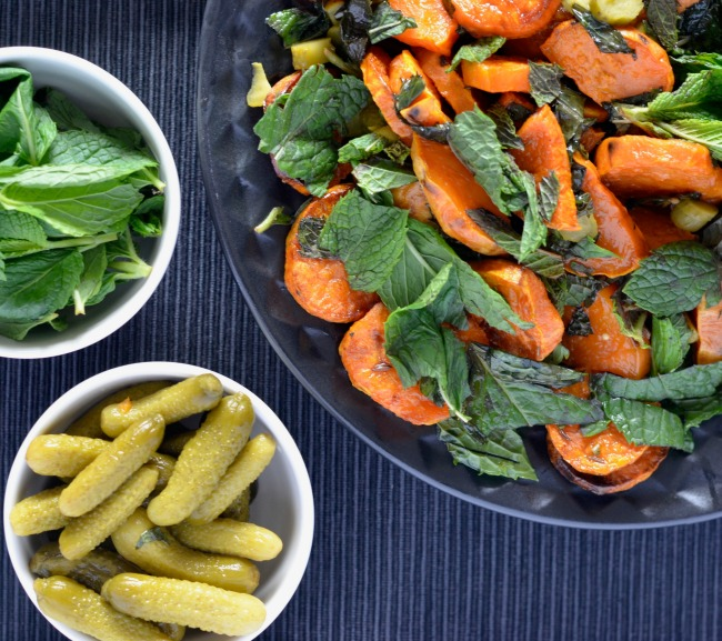 Sweet Potato Pickle Salad