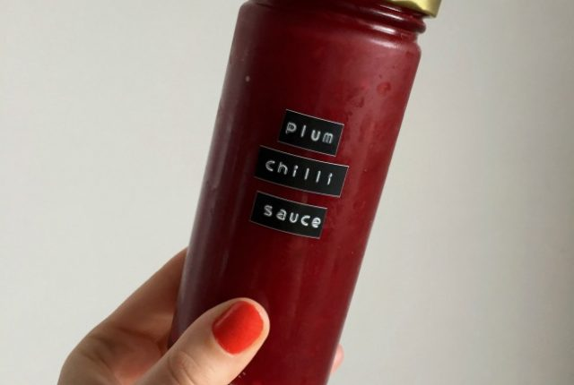 Plum Chilli Sauce | I Spy Plum Pie