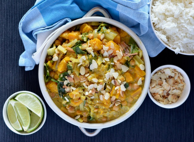 Pumpkin Silverbeet Curry | I Spy Plum Pie