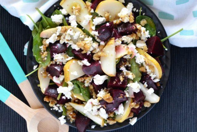 Beetroot Pear Salad   I Spy Plum Pie