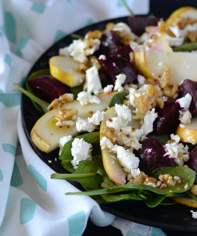 Beetroot Pear Salad | I Spy Plum Pie