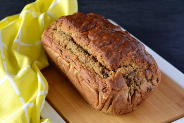 Banana Date & Walnut Loaf   I Spy Plum Pie