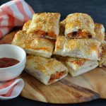 Recipe: Sweet Potato Feta Sausage Rolls