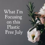 What I'm Focusing on this Plastic Free July