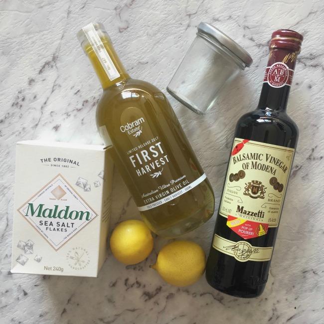 How to Make a Simple Vinaigrette | I Spy Plum Pie