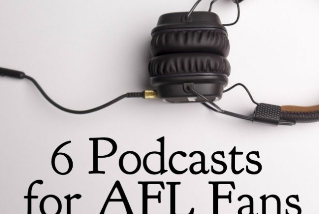 6 Podcasts for AFL Fans | I Spy Plum Pie