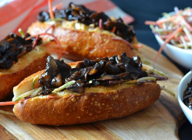 BBQ Pulled Mushrooms | I Spy Plum Pie