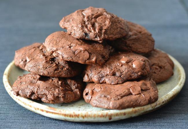 Dark Chocolate Chilli Cookies | I Spy Plum Pie