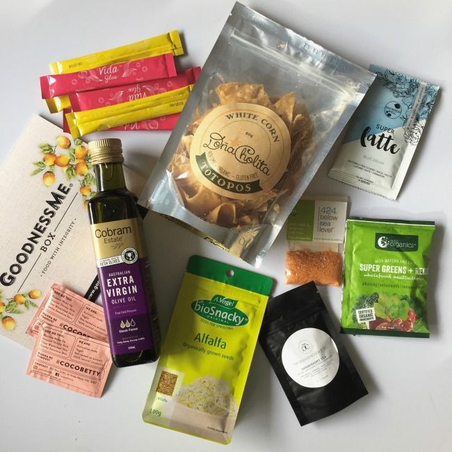 August Goodness Me Box Review | I Spy Plum Pie
