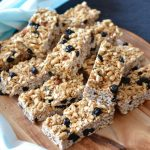 Recipe: Blueberry Almond Muesli Bars