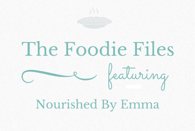 Foodie Files: Nourished By Emma | I Spy Plum Pie